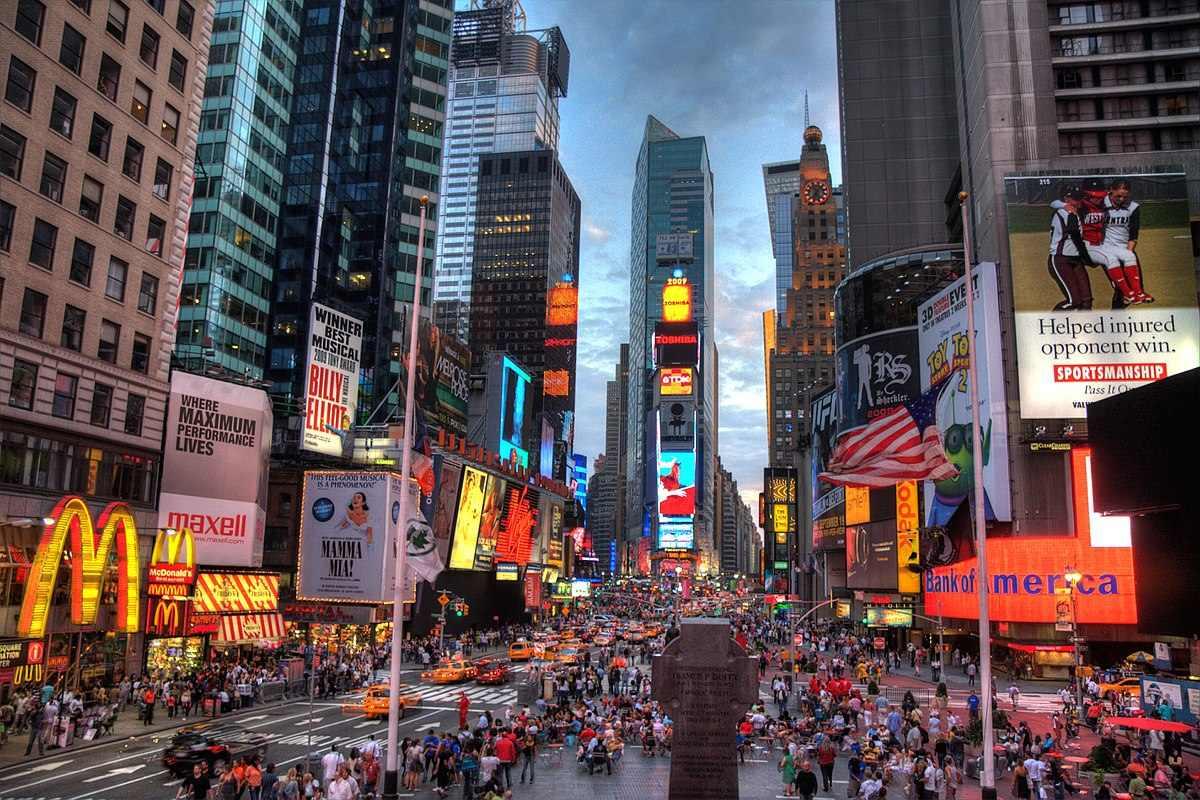 Times Square, New York City, via wikimediaorg