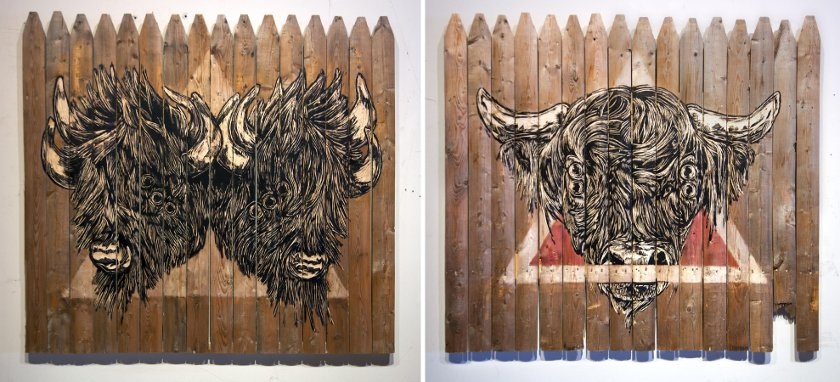 Tiptoe - Minotaur in Duplicity, 2014 - We Were All Innocent Once, 2014 - Courtesy Vertical Gallery