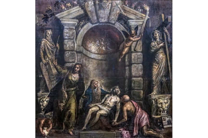 Titian - Pieta
