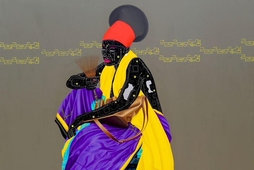 young african artist