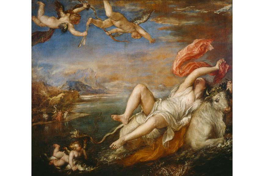 Titian - The Rape of Europa