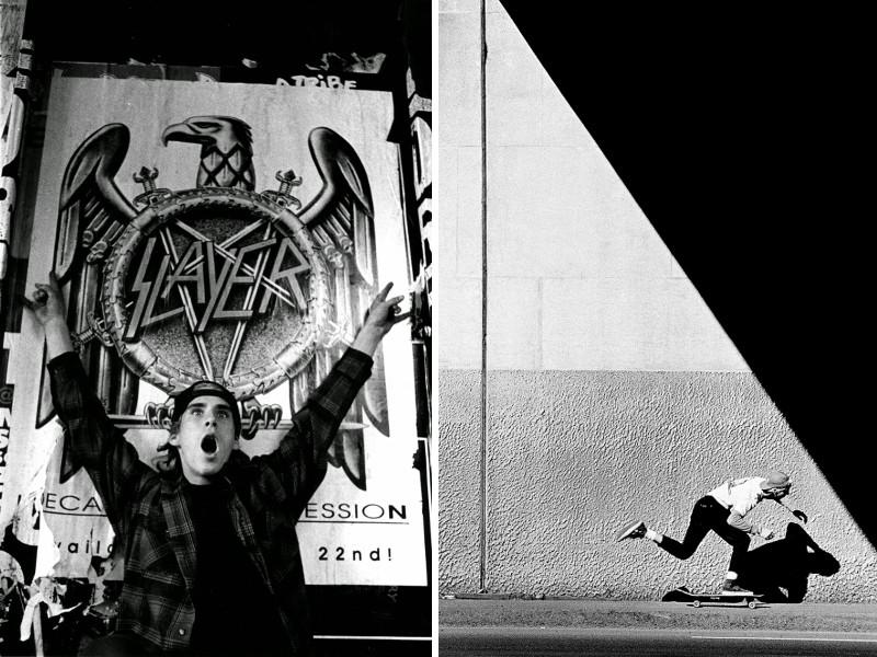 Tobin Yelland - Joh Cardiel & Slayer poster, San Francisco, 1991 / J. Grant Brittain - Todd Swank, Push, 1987