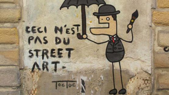 Toctoc - street art