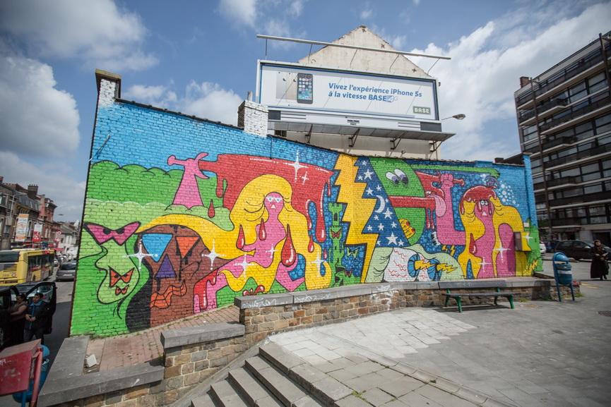 Asphalte Urban Art Biennale