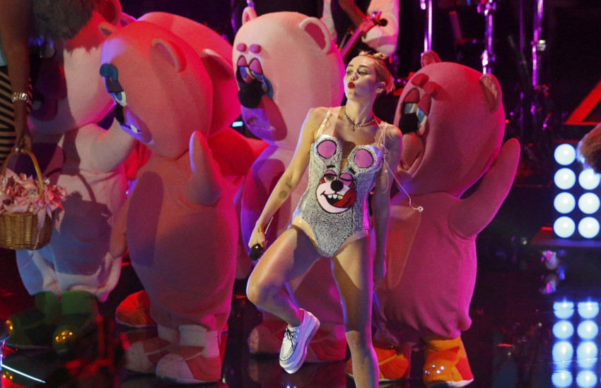 Todd James designed costumes for Miley Cyrus' appearance at MTV's VMAs in 2013