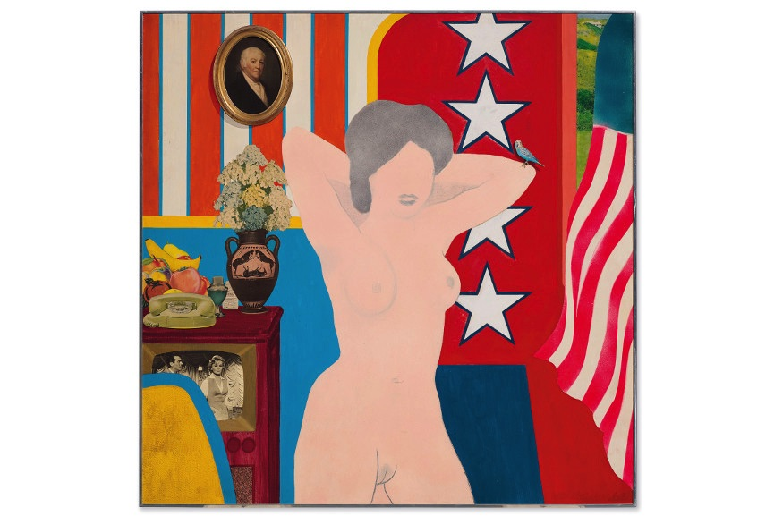 Tom Eesselmann - Great American Nude #34, 1962, from the iconic series of works