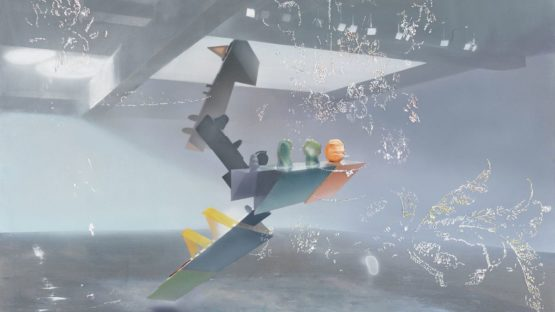 Tom LaDuke - Warp and Weft, 2018 (detail)