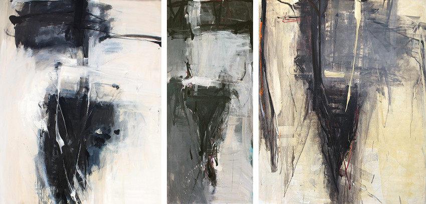 Tom Lieber - Spade XX, 2014 - Grey Spade, 2014 - detail - Spade Over Out, 2014