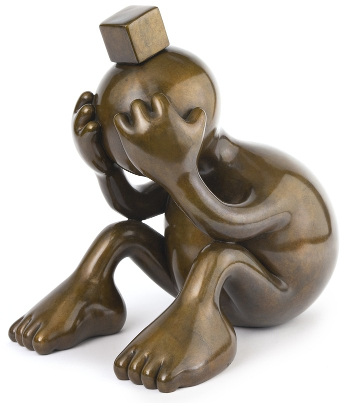 Tom Otterness-Sad Sphere-2007