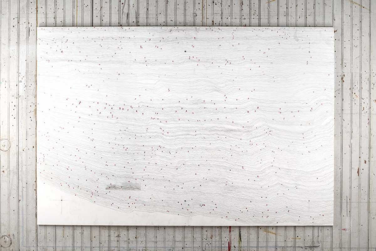 Tom Sachs - Wall Drawing Number One