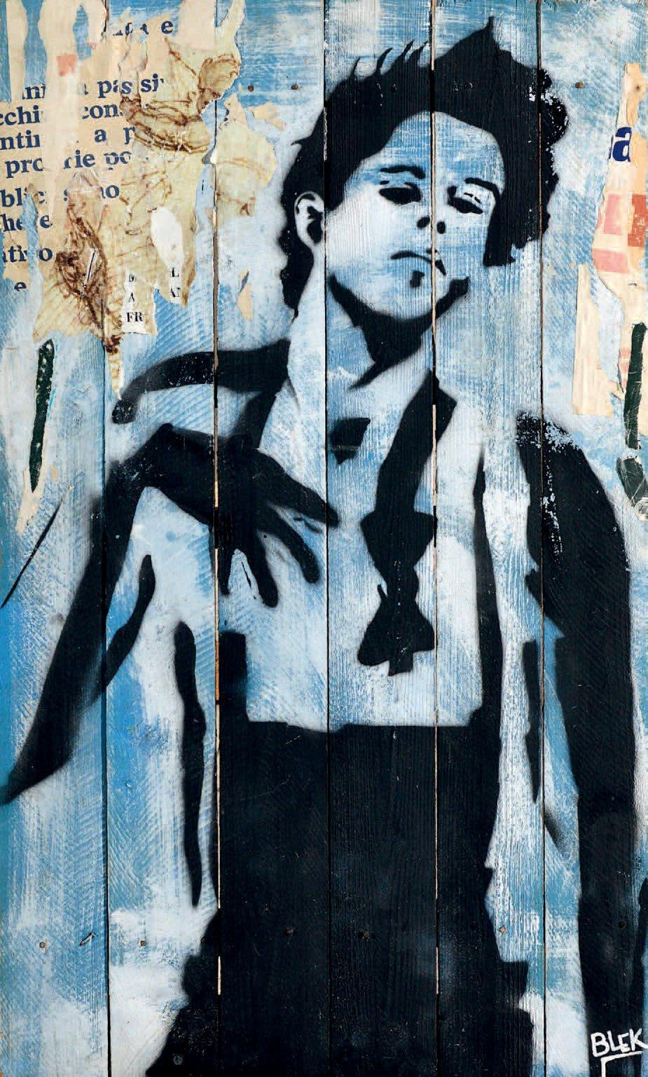 Blek le Rat-Tom Waits-1983