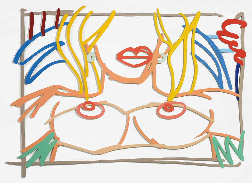 Tom Wesselmann-Bedroom Nude (Frontal)-1985
