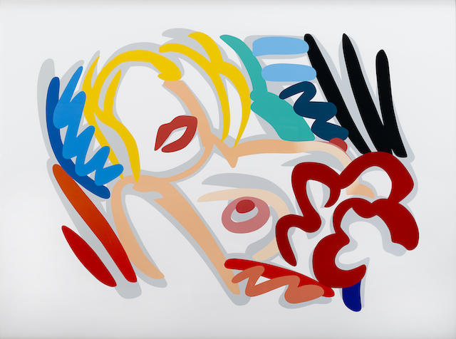 Tom Wesselmann-Big Blonde-1989