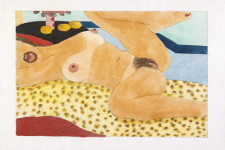 Tom Wesselmann-Drawing For Great American Nude #87-1967