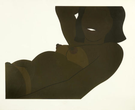 Tom Wesselmann-Great American Brown Nude: Cut Out-1971