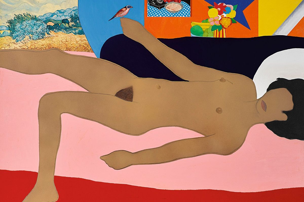 Tom Wesselmann - Great American Nude #49 (detail), 1963