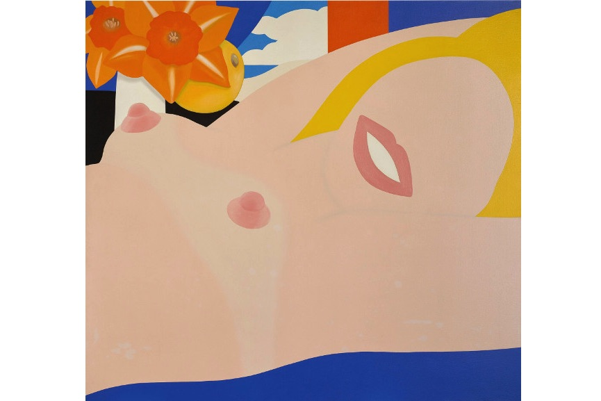Tom Wesselmann - Great American Nude #79, 1965
