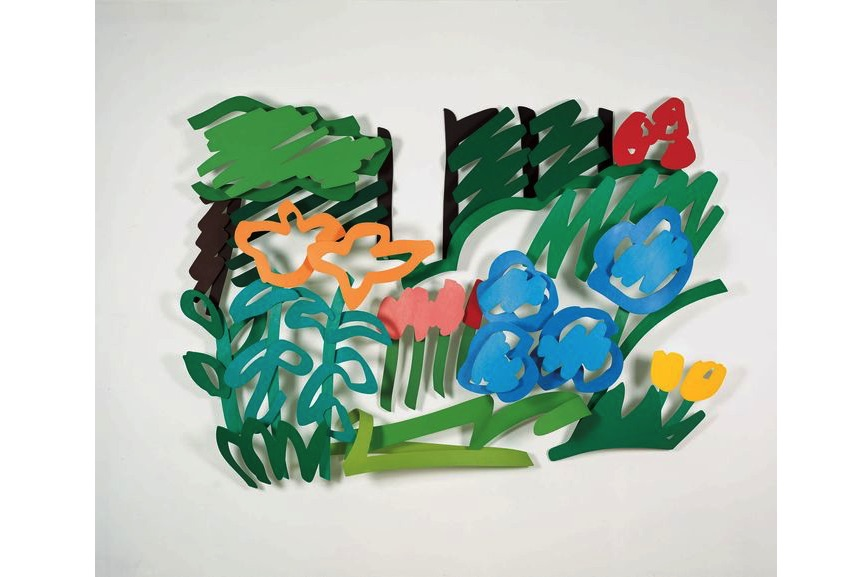 Tom Wesselmann, In Alice's Front Yard, 1992