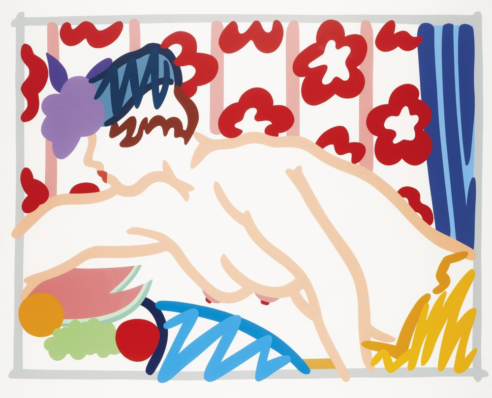 Tom Wesselmann-Judy Reaching Over Table-1997