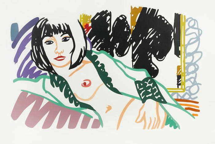 Tom Wesselmann-Monica in Robe with Motherwell-1994