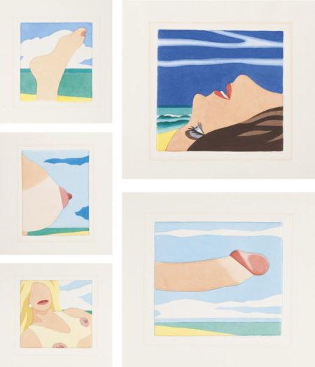 Tom Wesselmann-Seascape Portfolio-1978