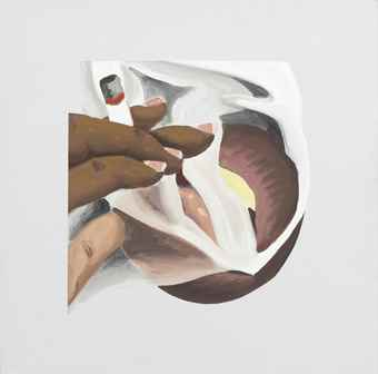 Tom Wesselmann-Smoker Study (For Smoker #24)-1976