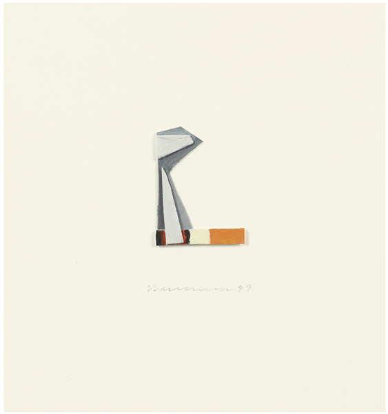 Tom Wesselmann-Smoking Cigarette-1999