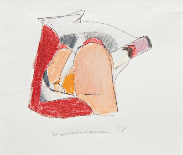 Tom Wesselmann-Study for Smoker #27-1978