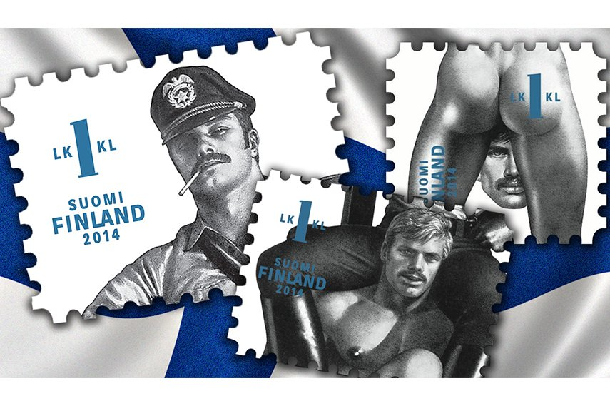 Tom of Finland stamps 2015