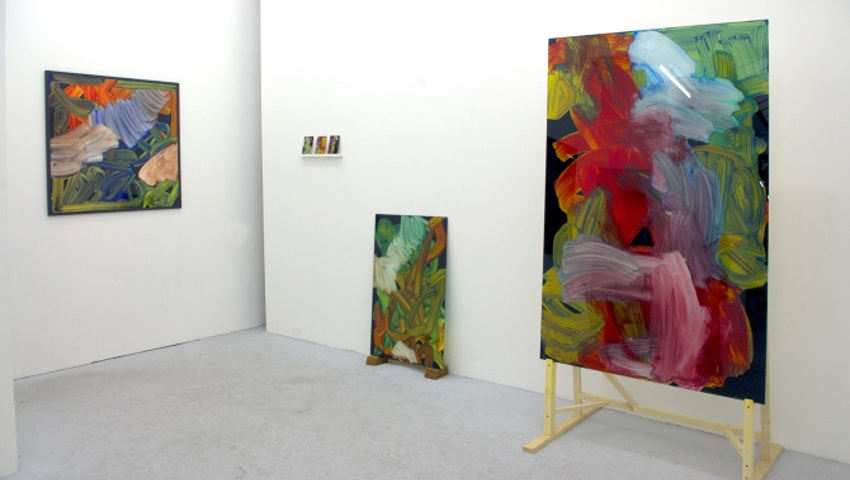 Tomek - Accident - solo show at Galerie Celal, Paris, 2015