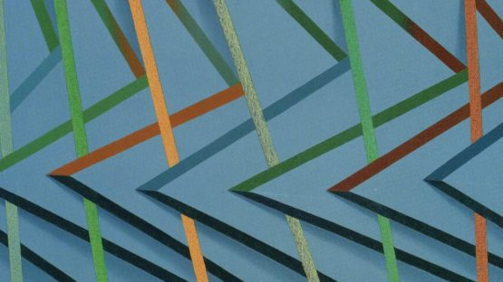 Tomma Abts - Veeke, 2001 (detail)