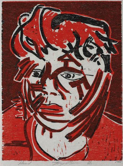 Tony Bevan-Head Portfolio-1988