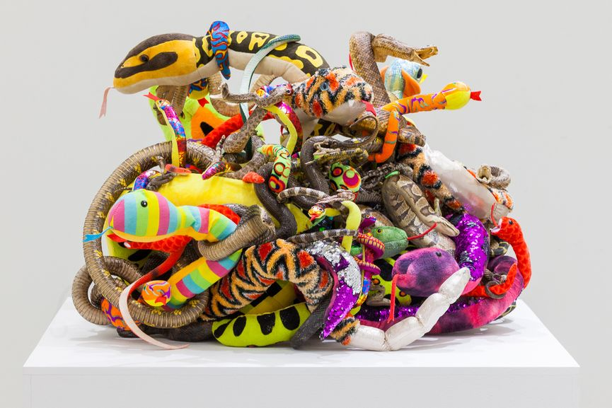 Tony Tasset - Snakes, 2020