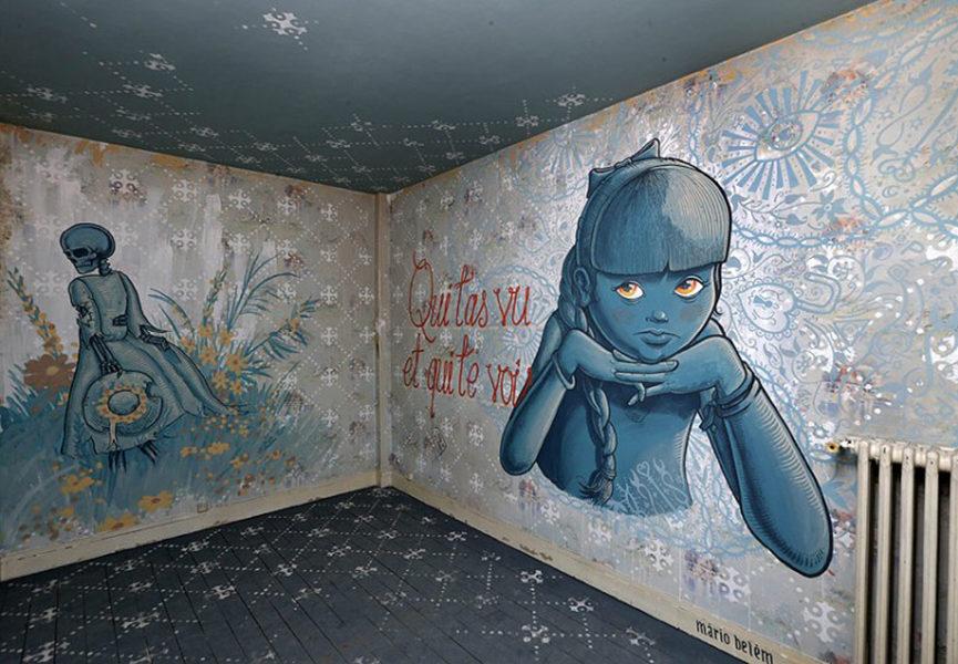 Street art intervention