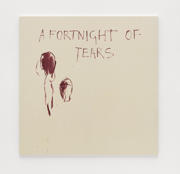 Tracey Emin - A Fortnight of Tears