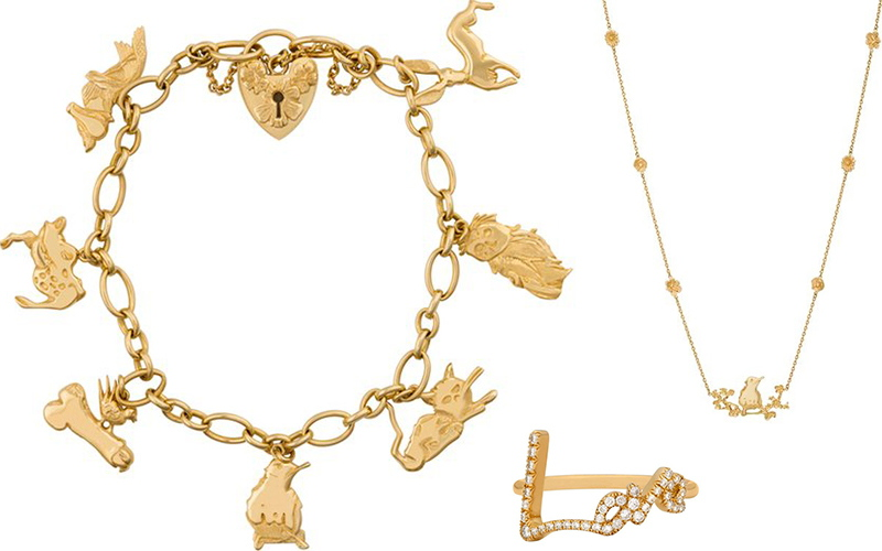 Tracey Emin - Charm bracelet for Stephen Webster's jewllery range, Image copyrights © Accoper Neg and Print, via The Guardian