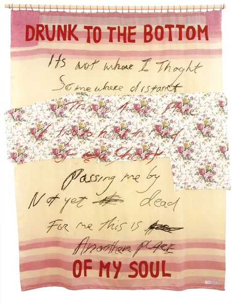 Tracey Emin - Drunk to the Bottom of My Soul, 2002