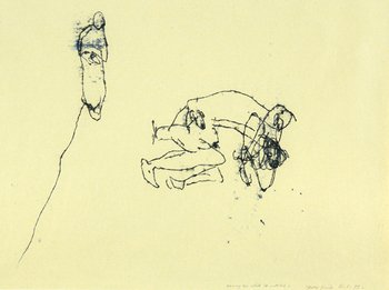 Tracey Emin-Having Sex While He Watches-1995