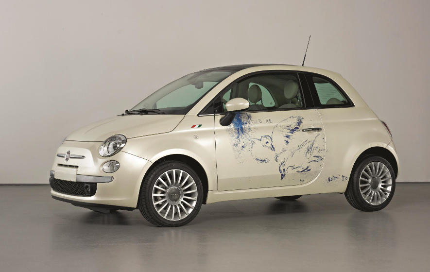 Tracey Emin-I Told Tou Not To (Fiat 500)-2007