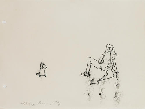 Tracey Emin-Illustrations from Memory, the Year-1974