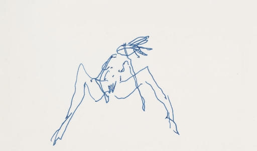 Tracey Emin-Legs Ajar, Reclining Nude-