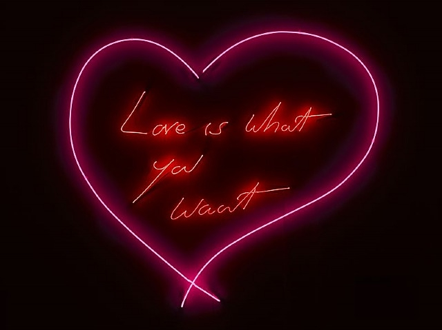 Tracey Emin-Love Is What You Want-2011