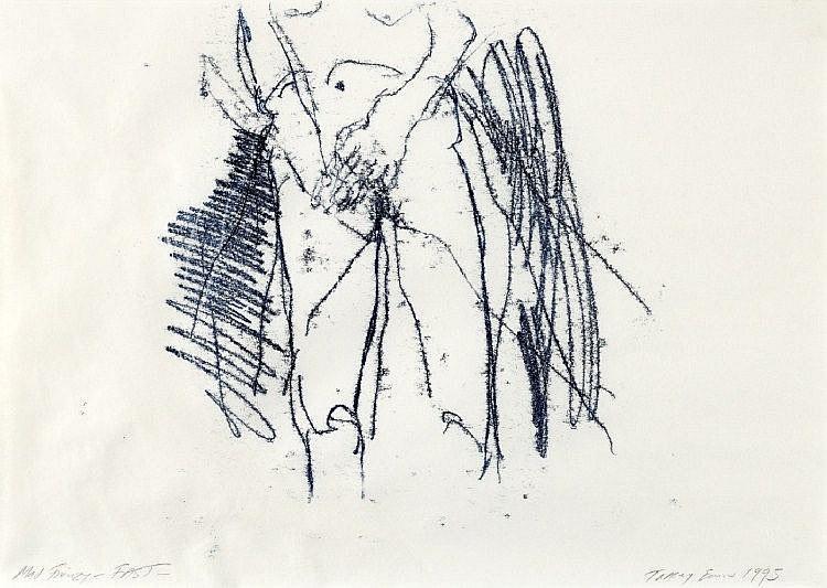 Tracey Emin-Mad Frenzy, Fast-1995