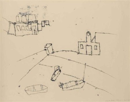 Tracey Emin-Margate Harbour-1995