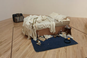 How Art Imitates Life in Tracey Emin's Bed