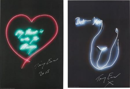 Tracey Emin-But Yea; And My Heart Is With You Always-2014
