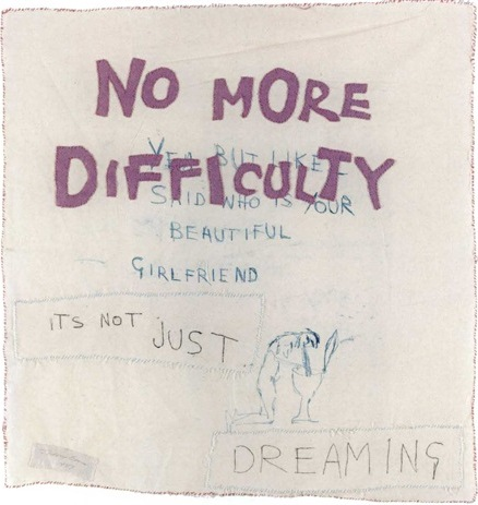 Tracey Emin-No More Difficulty-1999