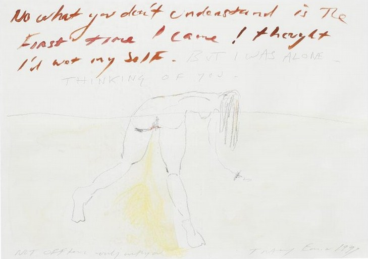 Tracey Emin-Not Offten, Only With You-1999