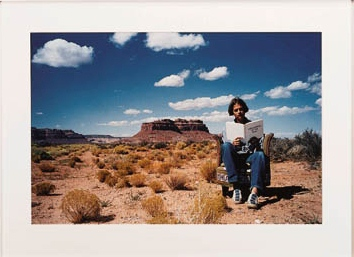 Outside Myself (Monument Valley)-1994