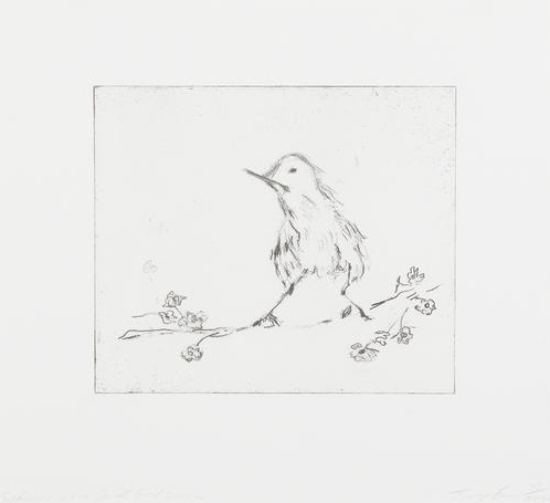 Tracey Emin-Self Portrait as a Small Bird-2002